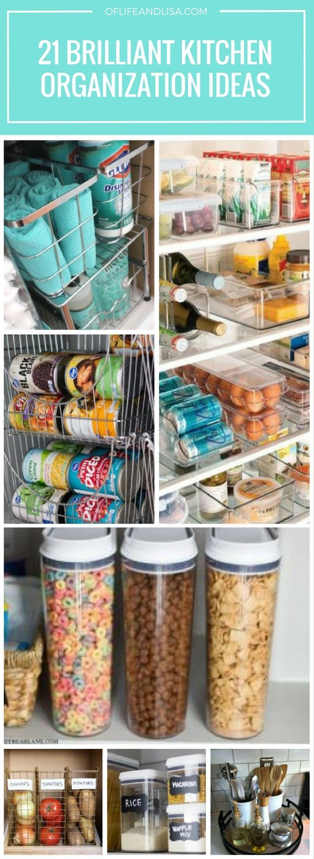 21 Brilliant DIY Kitchen Organization Ideas 320