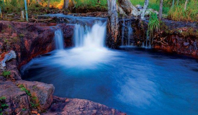 Buley Falls, Litchfield, NT, Australia.  #travel #wanderlust #australia