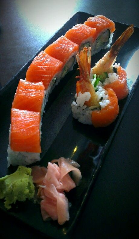 The superior Tiger roll - Yes Sushi, Edinburgh