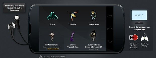 Humble Bundle introduces Sword & Sworcery to Android, packed with five other games