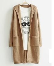 Fshion hooded cardigan knit long sweater cardigan for autumn and winter  Best Seller follow this link http://shopingayo.space