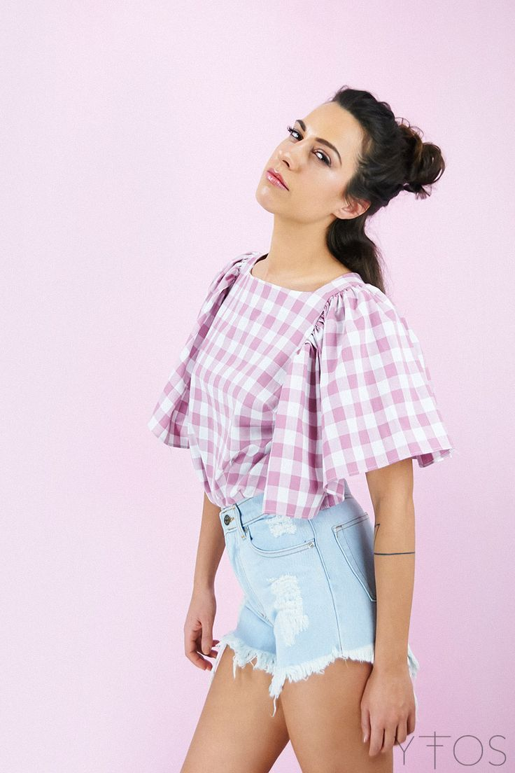 Yfos Online Shop | Clothes | Tops | Petit Checked Top by Karavan