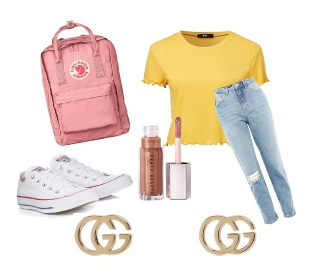 """""""Casual trend"""" by casa03 on Polyvore featuring Topshop, Converse, Fjällräven and Gucci"""