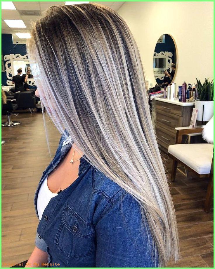 Frauen Frisuren Lange Haare Stilvolle Balayage Ombre Lange Frisur