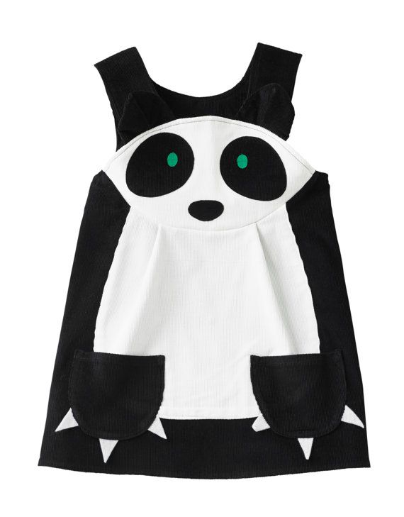 Panda girls play dress by wildthingsdresses on Etsy