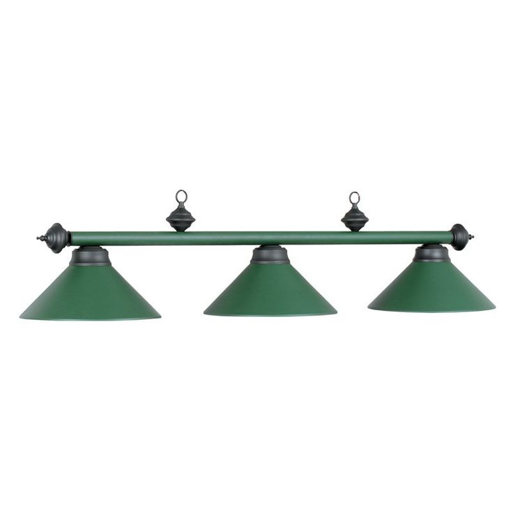 RAM Gameroom Products PR54 MAH 3-Light Billiard Light - 54W in. - PR54