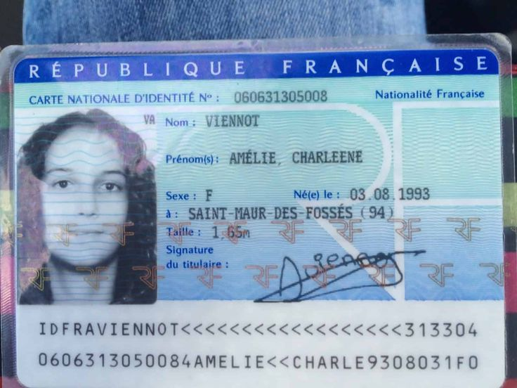 Buy French ID card online produced with same quality like