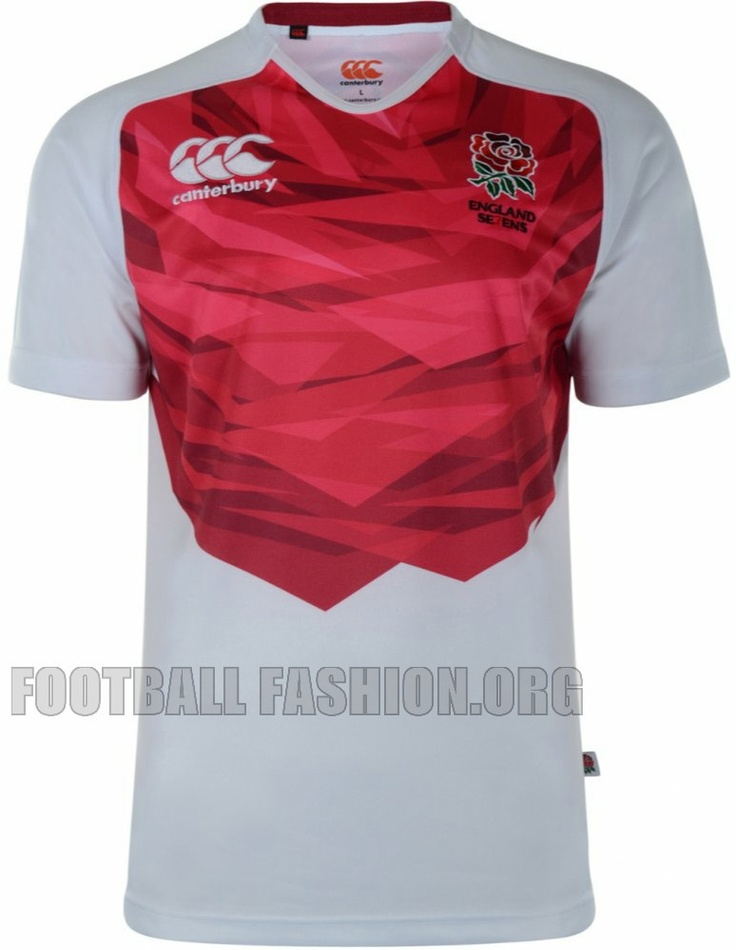 England Rugby Sevens 2012/13 Canterbury Home and Away Kits