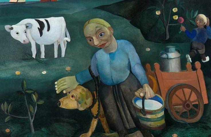 The Milkmaid, Herman Kruyder