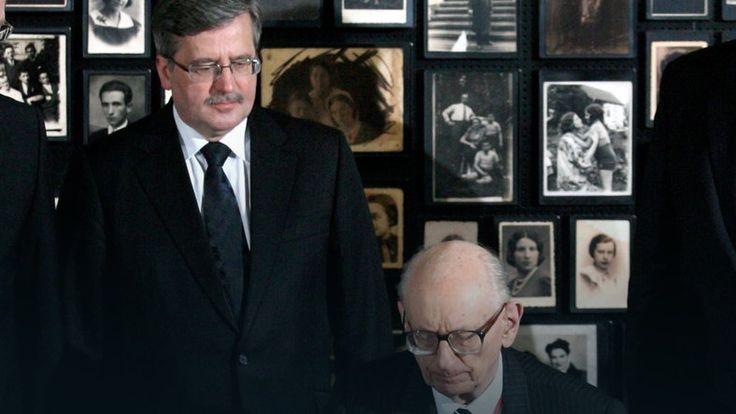 Komorowski: Bartoszewski wzorem patrioty #historia