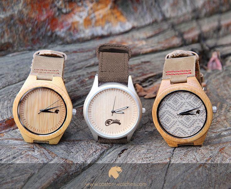 Origen Dual Bamboo o Tótem? Tú eliges tu estilo en #castorwatches . Desde $29.900. Despacho gratis en todo Chile . Worldwide shipping  . Visita nuestra web http://ift.tt/1RZA1G6 ! #relojes #relojesdemadera #accesorios #woodenwatch #watch #bamboowatch #watches #reloj #montre #montres #chile