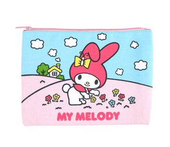 My Melody Large Flat Pouch: Classic | My melody, Sanrio ...