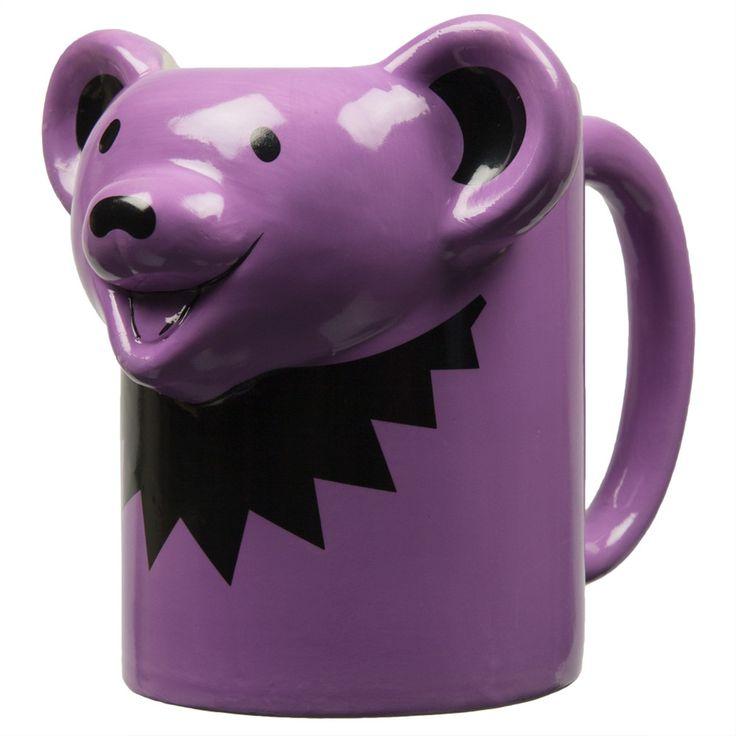 Grateful Dead - Dancing Bear 16oz Molded Mug