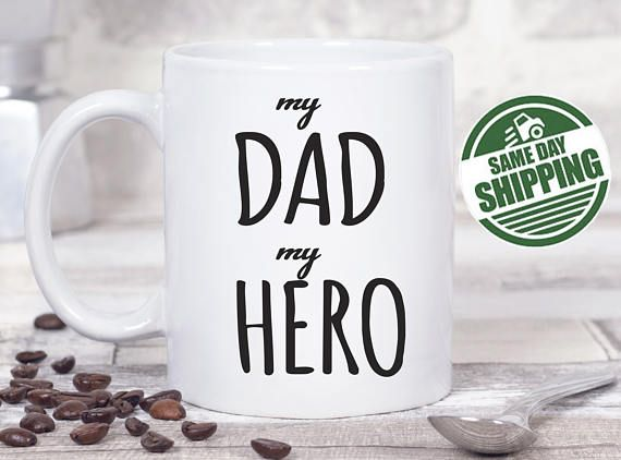 gifts for new dads, dad mug, funny dad gift, gifts for dad, new dad, dad to be, dad gifts, mugs for dad, mugs for men, sayings, personalized dad, fathers day mug, gifts from daughter  This cute design will be printed on best quality Grade A fully white Mugs or Mugs with black handle. If you prefer, we can print design on one side and special message on the other side. Kindly specify in order notes. We use dye sublimation and heat transfer technique to print the design on the mugs. This…