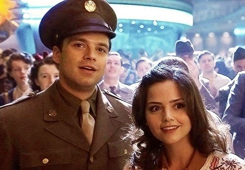 Jenna Louise-Coleman in The First Avenger