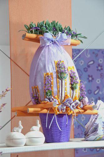 Un evergreen per la Pasqua: il tema lavanda.