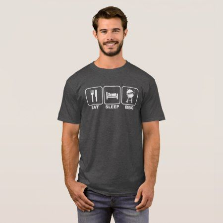 Eat Sleep BBQ T-Shirt - tap, personalize, buy right now!