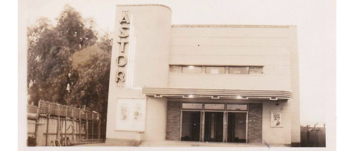 Old Astor theatre in High Street Shepparton- now the car park next to O'Deas Saddlery