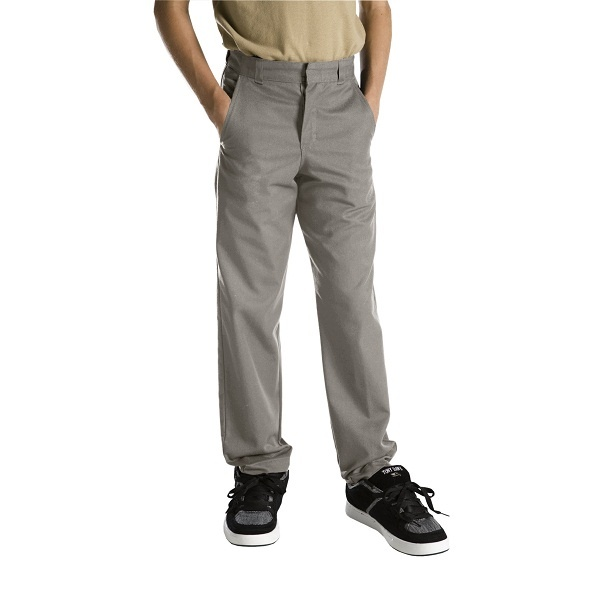 #clothing #zarclothing #dickies #schooluniforms #workuniforms #levis #promdresses http://ZarClothing.com: Dickies 56562 Silver - Boys' Plain Front Pants (Sizes 8-20)>>>>>>
