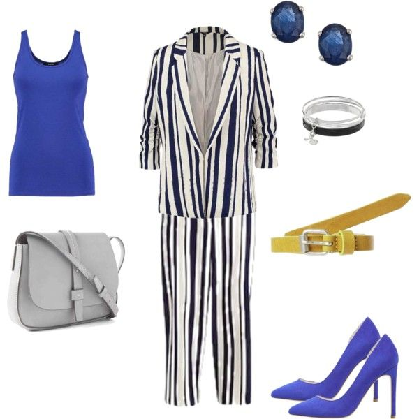 love stripes set 3 by colour-code on Polyvore featuring moda, Gap, Dana Buchman and even&odd