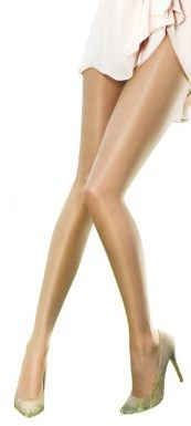 Pretty Polly The Naturals Oiled Tights - Get the appearance of soft, silky legs with Pretty Pollyâs oiled tights. The invisible sandal toe is the perfect excuse to wear these with open-toed shoes, while the sheer tights give your legs a just-oiled look. Show them off in a sundress and your best pair of open-toed wedges. - Shop these tights at @fashion_tights_styles www.fashion-tights.net #tights #pantyhose #hosiery #nylons
