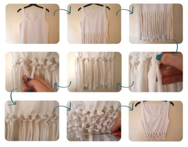 how to make a tshirt into a singlet