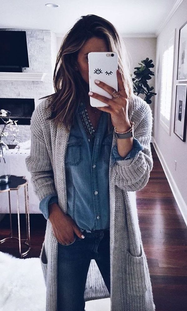 cozy layers all day long