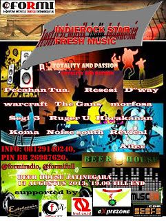 FORMI : INDIE ROCK STAR - FRESH MUSIC 13 AGUSTUS 2013 | INDIEPRENEURSHIP