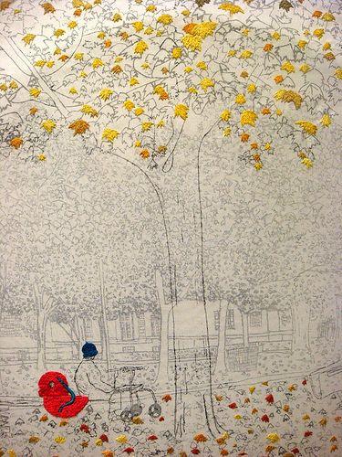 Fabric art: Shuyu Lu