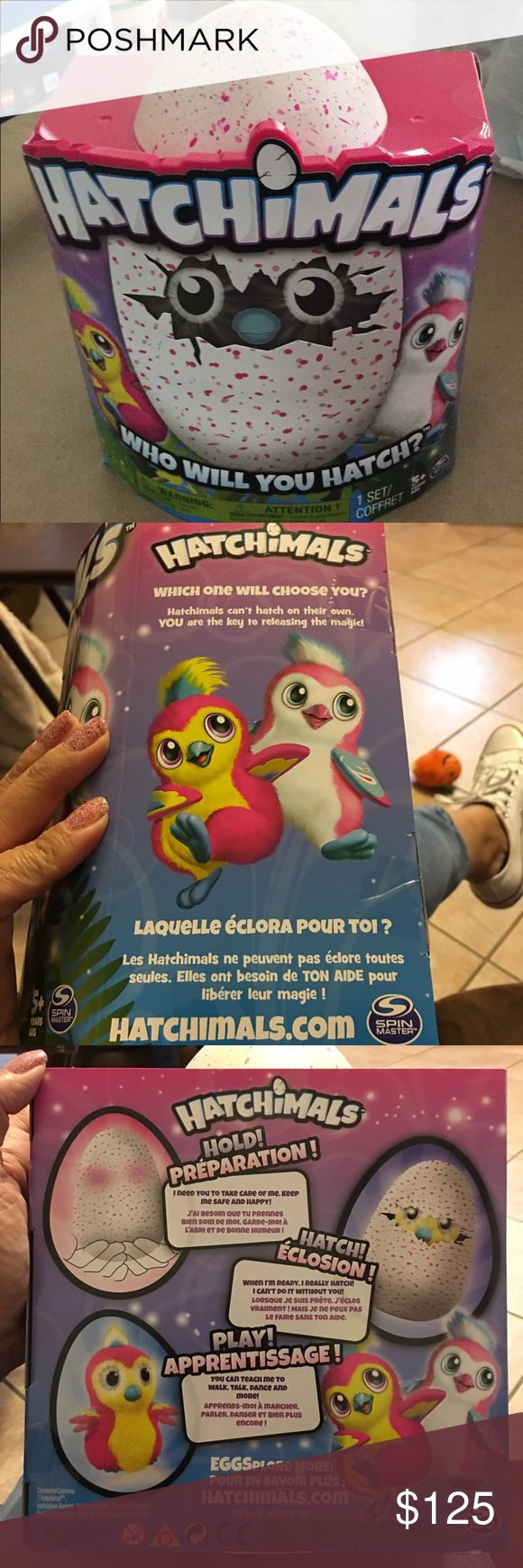 HATCHIMALS Pink HATCHiMALS most wanted Christmas gift this year. I am not gonna lie I am trying to make a profit. My son was in a car accident on the highway. All he is asking for Christmas is to have his car fixed. So I need cash to do so. And no our insurance will not cover since the other car didn't stop and we don't have full coverage on his car. Pic of his damage shown. No trades please. Thank you. Happy Holidays 🎄Will ship out same day. No trading. spin master Other
