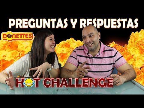 DONETTES HOT CHALLENGE con PREGUNTAS y RESPUESTAS!!! - YouTube