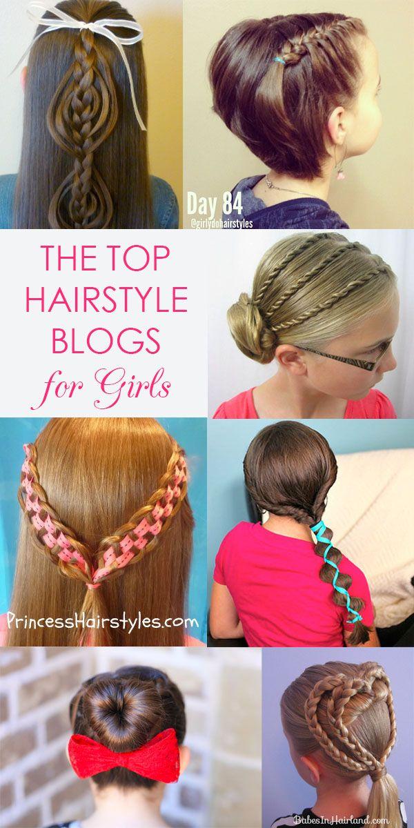 Top 5 hair blogs for girls' hairstyles - Hair Romance