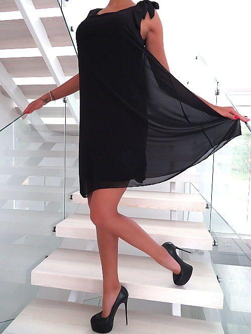 New ITALY 🇮🇹 NEU 2018 ELEGANT Classic TOP Damen Hot Kleid W23 Sexy Black Dress