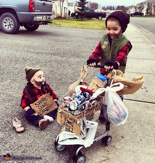 VOTE! Baby Hobos - 2013 Halloween Costume Contest via @costumeworks