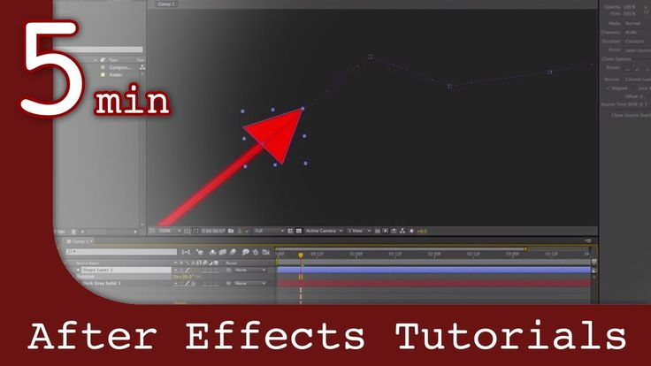 This is a quick video to show an easy way to create rising and falling arrows in after effects, like you see in stock market graphs. This tutorial is short a...