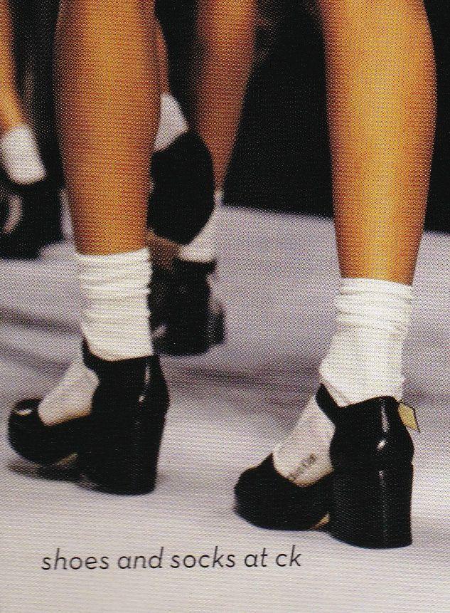 "virare: "" Backstage at Calvin Klein Spring/Summer 1994 """