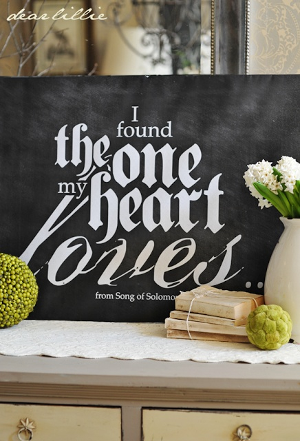 I Found The One... Chalkboard Download  by Dear Lillie