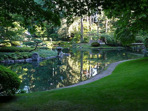 Nitobe Japanese Garden  University of British Columbia  Vancouver, Canada