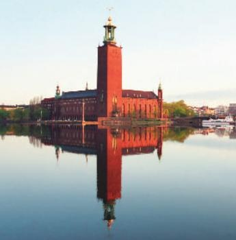 Stockholm City Hall. Venue of the Nobel Prize banquet.
