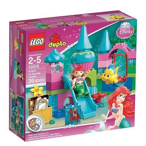 Lego Duplo Ariel's Undersea Castle [39 pcs - 10515]