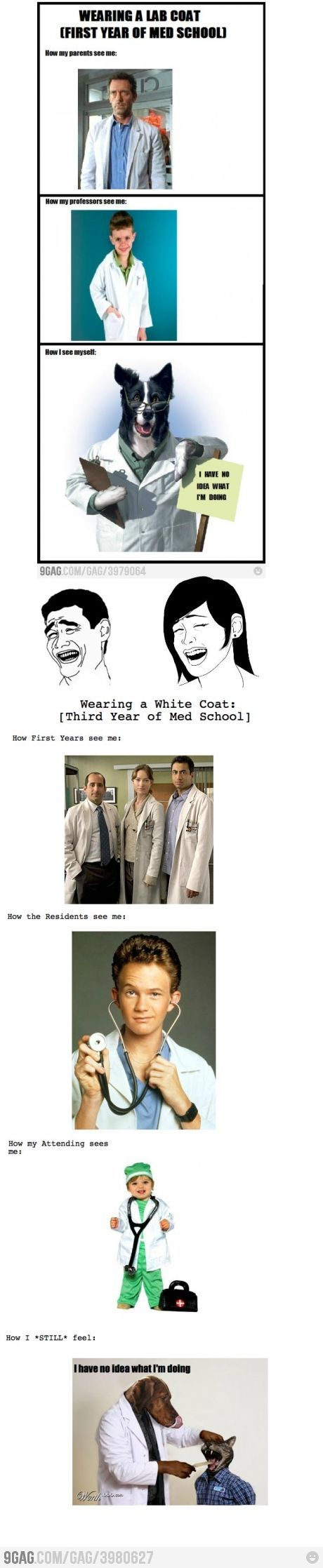 How others see me as a med student.