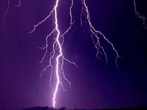 Rain and thunder storm - an hour of relaxing noise for your ears - YouTube