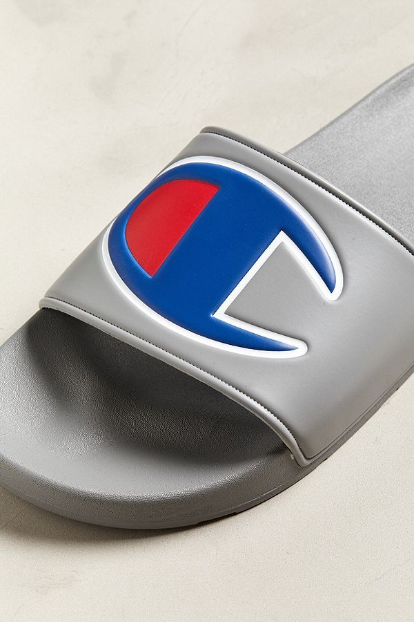 Champion Big Logo Slide Sandal