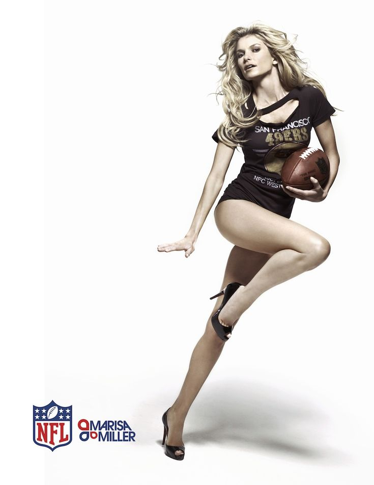 Marisa Miller-49ers  Any women that rocks 49ers gear like that will have my heart.