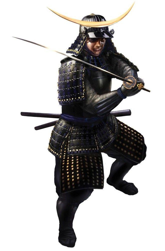 Date Masamune wearing his black armor - total war shogun 2 ART - Google Search