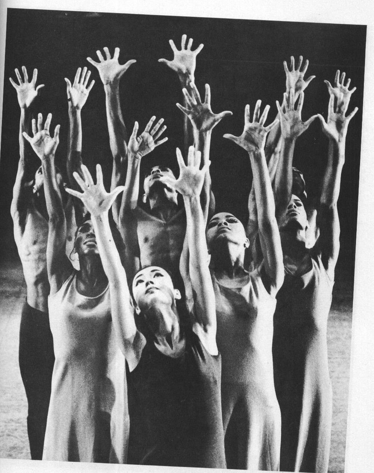 I will never forget when Alvin Ailey's company came into residence at my high school and opened our eyes to modern dance. Revelations will always stick with me.