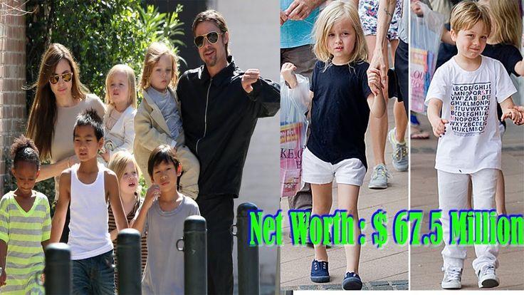 Vivienne Marcheline Jolie Pitt  & Knox Leon Jolie Pitt Lifestyle 2017