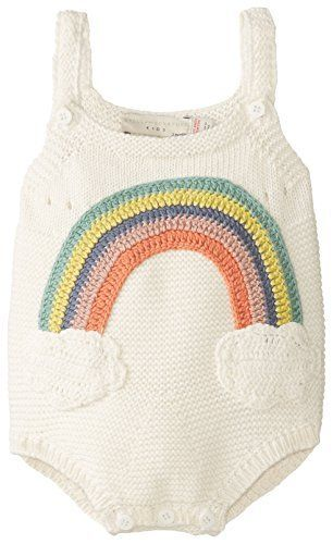 cutest romper EVER! // rainbow knit from stella mccartney