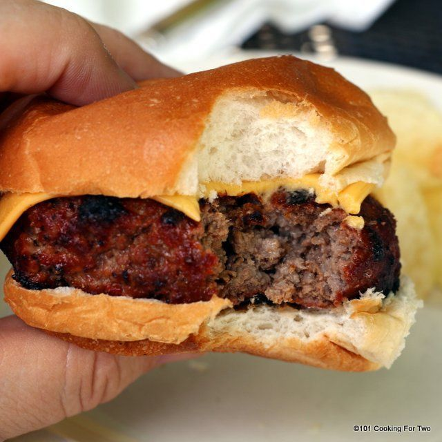 A smokehouse burger... just the name says thick, juicy and smokey. An incredible burger that worthy of being served in a smokehouse but now you can do it at home on your gas grill. http://grillsidea.com/how-to-use-electric-grill/