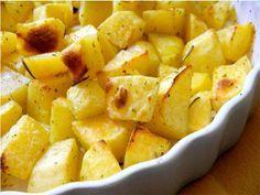 Batatas crocantes - receita rápida e simples, um clássico da cozinha italiana para acompanhar pratos de carne, frango e peixes.